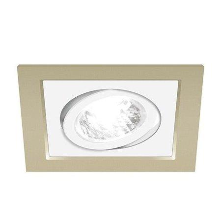 Bodové Stropní svítidlo BORYS D, hranatá, 1 x GU10, béžová/bílá, 3220, Struhm