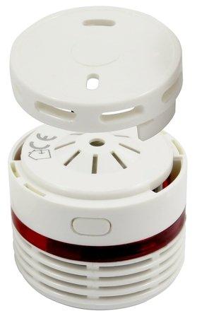 DETEKTOR KOUŘE ''EL HOME'' SD-13B8  bateriové napájení fotooptické čidlo B81A413