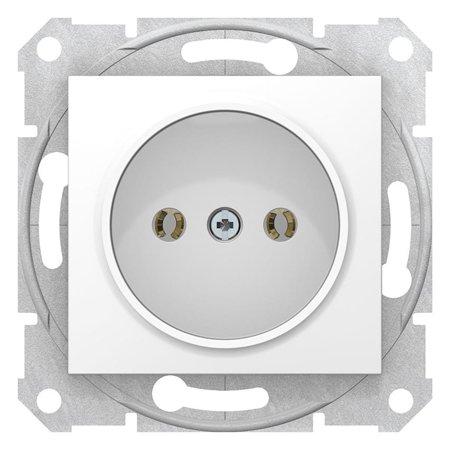 Jednoduchá zásuvka 2P, bílá Sedna SDN2900121 Schneider Electric
