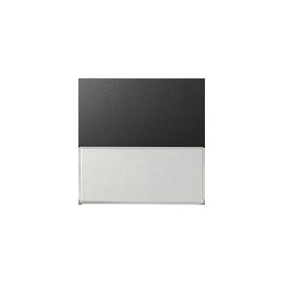 Jednotná klávesa s popisovým pólem, grafit Kontakt Simon 82 82063-38
