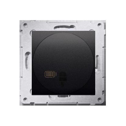 Kontakt Simon 54 Premium Antracit Vypínač dálkově ovládaný (modul) 20-500 W, DWP10T.01/48