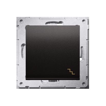 Kontakt Simon 54 Premium Antracit Vypínač schodišťový (modul) X šroubové koncovky, DW6A.01/48