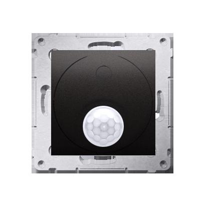 Kontakt Simon 54 Premium Antracit Vypínač se senzorem pohybu s relé (modul) DCR10P.01/48