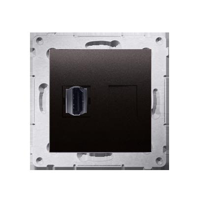 Kontakt Simon 54 Premium Antracit Zásuvka HDMI (modul), DGHDMI.01/48