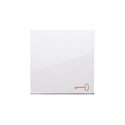 Kontakt Simon 54 Premium Bílý Jednotná klávesa s piktoramem klíče pro vypínače/Tlačítek, DKWK1/11