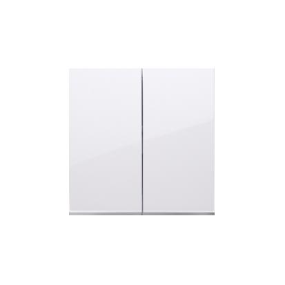 Kontakt Simon 54 Premium Bílý Klávesy pro vypínače/Tlačítek dvojnásobných, DKW5/11