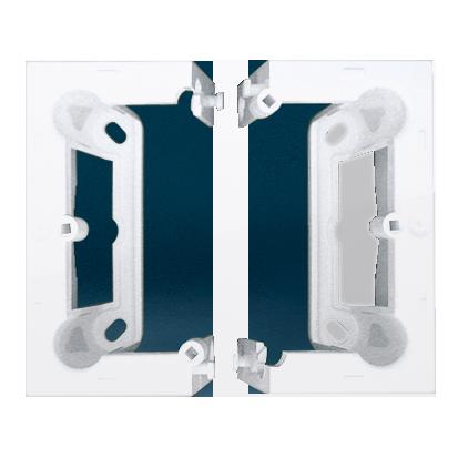 Kontakt Simon 54 Premium Bílý Krabice nástěnná hnebooká (40 mm) skládaná (1 ks. DSC/. = 2 díly), DSC/11