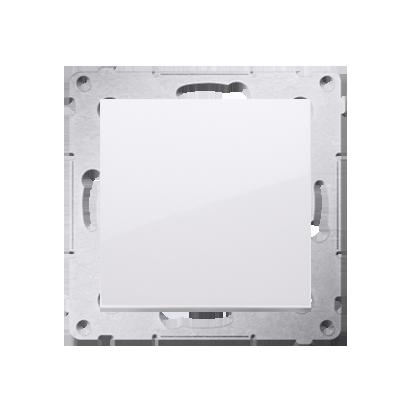 Kontakt Simon 54 Premium Bílý Tlačítko jednopólové zkratovací bez piktogramu X šroubové koncovky, DP1A.01/11