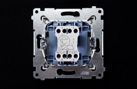 Kontakt Simon 54 Premium Bílý Vypínač dvoupólový rychlospojka, DW2.01/11