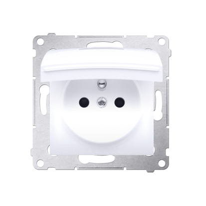 Kontakt Simon 54 Premium Bílý Zásuvka pro verzi IP44 DGZ1BUZ.01/11