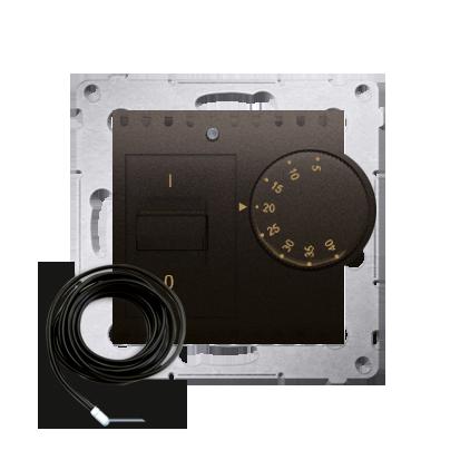 Kontakt Simon 54 Premium Hnědá, matný Regulátor teploty s vnějším senzorem (modul) DRT10Z.02/46