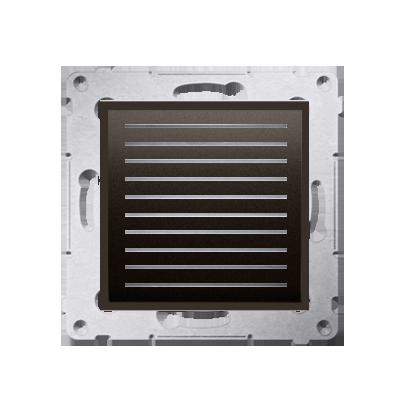 Kontakt Simon 54 Premium Hnědá, matný Reproduktor 2 W, 16 (modul), D05562.01/46
