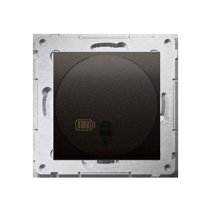 Kontakt Simon 54 Premium Hnědá, matný Vypínač dálkově ovládaný s relé (modul) DWP10P.01/46