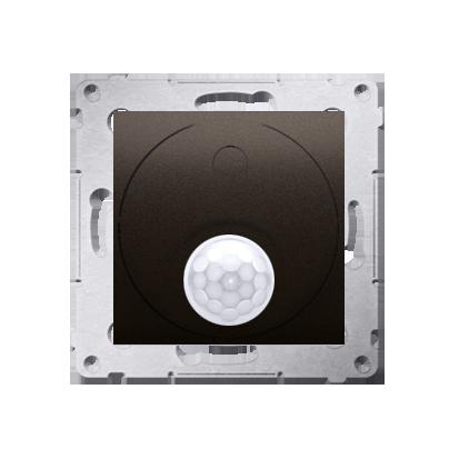 Kontakt Simon 54 Premium Hnědá, matný Vypínač se senzorem pohybu s zab. před neoprávněným přístupem 20-500 W, DCR11T.01/46