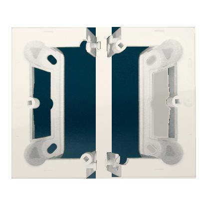 Kontakt Simon 54 Premium Krémová Krabice nástěnná hnebooká (40 mm) skládaná (1 ks. DSC/. = 2 díly), DSC/41