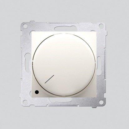 Kontakt Simon 54 Premium Krémová Stmívač otočný dvoupólový do stmívatelných LED DS9L2.01/41