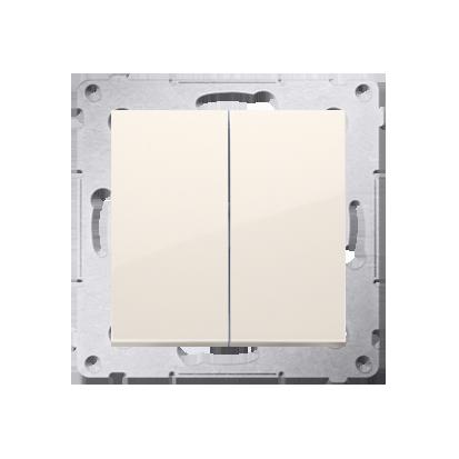 Kontakt Simon 54 Premium Krémová Tlačítko dvojnásobný zkratovací bez piktogramu rychlospojka, DP2.01/41