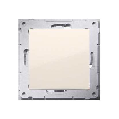 Kontakt Simon 54 Premium Krémová Tlačítko jednopólové zkratovací bez piktogramu X šroubové koncovky, DP1A.01/41