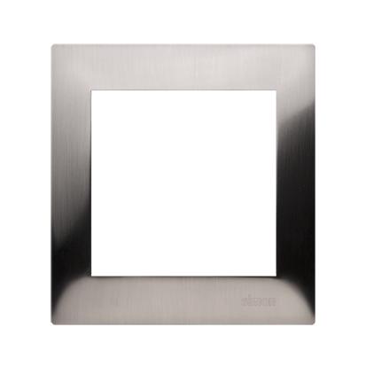 Kontakt Simon 54 Premium Rámeček 1-násobný univerzální IP20/IP44, inox DR1/61
