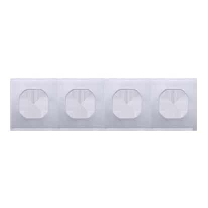 Kontakt Simon 54 Premium Sada Těsnění IP44 pro rámeček 4-násobného DU4
