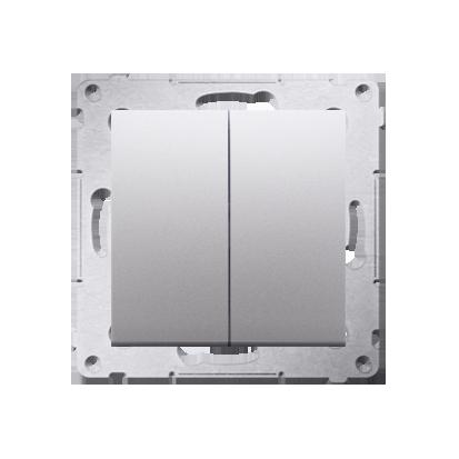 Kontakt Simon 54 Premium Stříbrná Přepínač sériový pro verzi IP44 DW5B.01/43