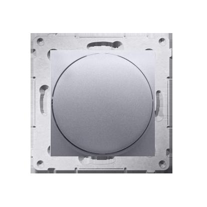 Kontakt Simon 54 Premium Stříbrná Regulátor 1–10 V K zapínání a regulaci světla s napájecím zdrojem s regulací proudu 1–10 V, DS9V.01/43