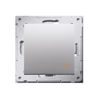 Kontakt Simon 54 Premium Stříbrná Vypínač křížový (modul) X šroubové koncovky, DW7A.01/43