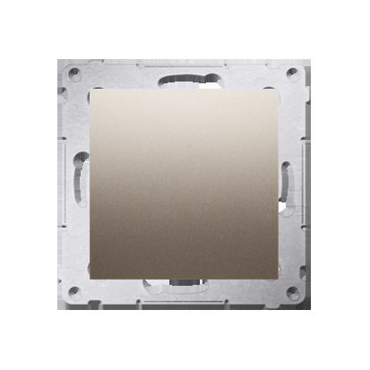 Kontakt Simon 54 Premium Zlatá Clona rámečku (modul). pomocí drápků nebo šroubů, DPS.01/44