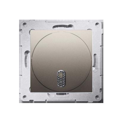 Kontakt Simon 54 Premium Zlatá Elektronický zvonek (modul) 8–12 V~, DDT1.01/44