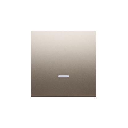 Kontakt Simon 54 Premium Zlatá Jednotná klávesa s očkem pro vypínače/Podsvícené tlačítka, DKW1L/44