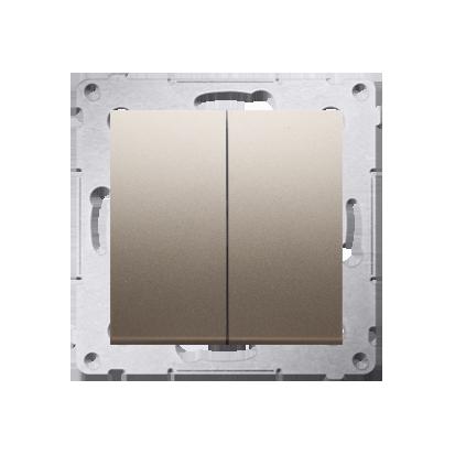 Kontakt Simon 54 Premium Zlatá Přepínač sériový (modul) rychlospojka, DW5.01/44