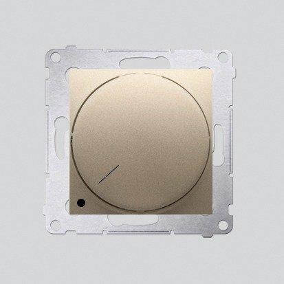 Kontakt Simon 54 Premium Zlatá Stmívač otočný dvoupólový do stmívatelných LED DS9L2.01/44