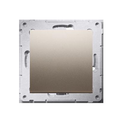 Kontakt Simon 54 Premium Zlatá Tlačítko jednopólové zkratovací bez piktogramu X šroubové koncovky, DP1A.01/44
