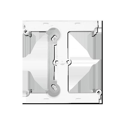 Krabice nástěnná hnebooká (40mm) - rozšiřující díl bílý Kontakt Simon PSH/11