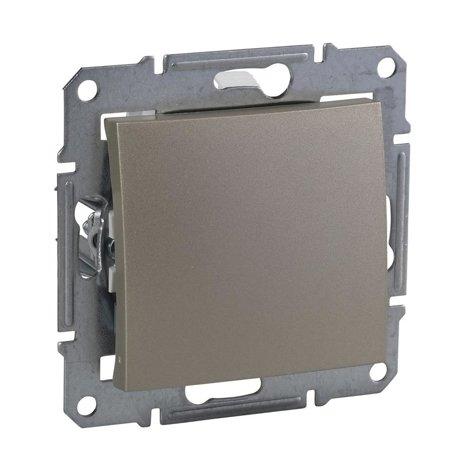Křížový vypínač IP44 saténová Sedna SDN0500368 Schneider Electric