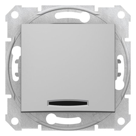 Křížový vypínač s podsvícením hliník Sedna SDN0501160 Schneider Electric