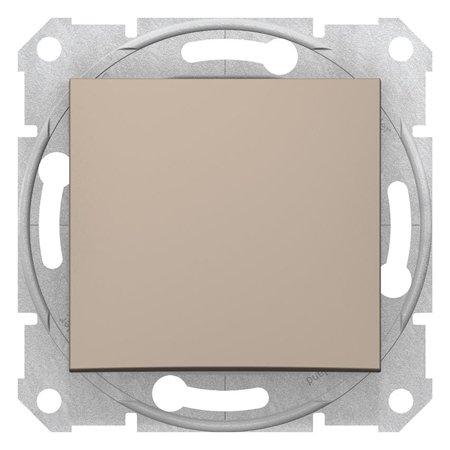 Křížový vypínač saténová Sedna SDN0500168 Schneider Electric