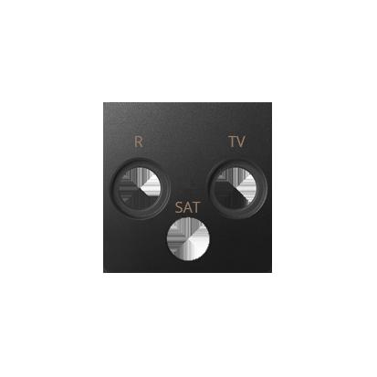 Kryt zásuvky R-TV-SAT, béžová Kontakt Simon 82 82037-31