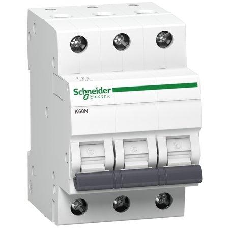 Nadproudový jistič K60N-B16-3 B 16A 3-pólový Schneider Electric A9K01316