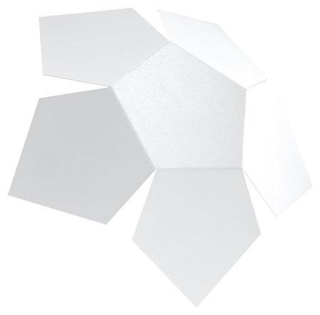 Nástěnné svítidlo PENTA bílá 2xG9 Sollux SL.0422
