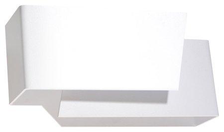 Nástěnné svítidlo PIEGARE bílá 1xG9 Sollux SL.0394