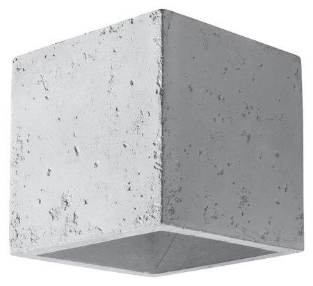 Nástěnné svítidlo QUAD Beton 1xG9 Sollux SL.0487