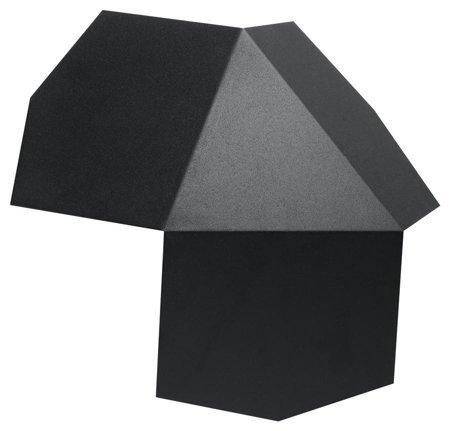 Nástěnné svítidlo TRE černá 2xG9 Sollux SL.0425