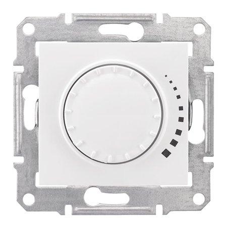 Otočný stmívač bílá RC 25-325VA Sedna SDN2200621 Schneider Electric
