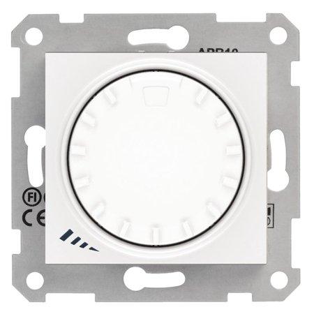 Otočný - tlačítkový stmívač bílá RL 1000VA/600W Sedna SDN2200921 Schneider Electric