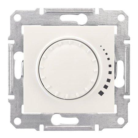 Otočný - tlačítkový stmívač krémová RL 60-500VA Sedna SDN2200523 Schneider Electric
