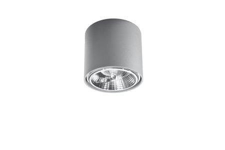 Plafon TIUBE šedá GU10 SL.0696 Sollux