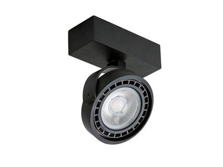 Reflektor Jerry 1 230V 16W černá Azzardo GM4113-230V