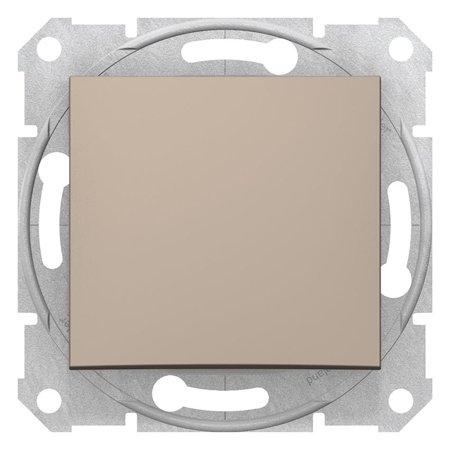 Schodišťové tlačítko saténová Sedna SDN0420168 Schneider Electric