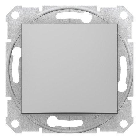 Schodišťový vypínač 16A hliník Sedna SDN0400460 Schneider Electric